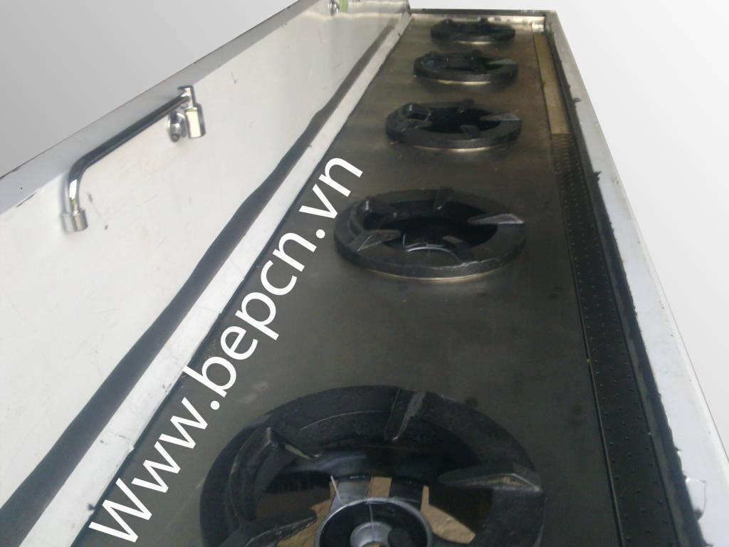 Bếp công nghiệp Á 5 bếp Model SCBA4 - 5A3600
